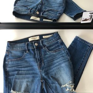Pacsun Distressed Jegging Jeans
